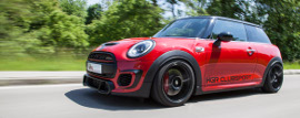 KW coilovers in a Mini John Cooper Works