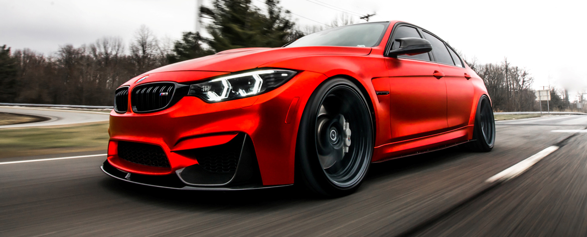 KW coilovers in a BMW M4 (F82) und M3 (F80)
