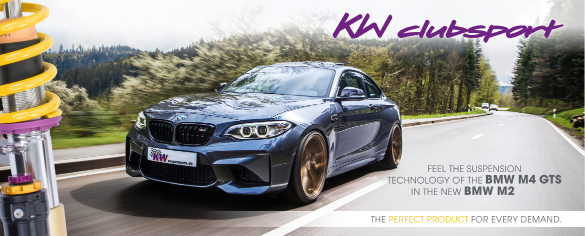 KW Clubsport BMW M2 2016